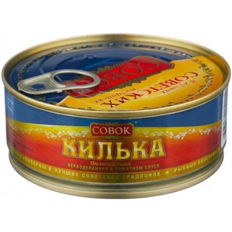 Килька обжаренная в т/с 230 гр. ТМ