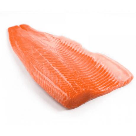 Филе лосося морского(форель) на коже с/с в/у (весовое)