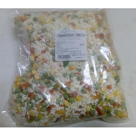 Гавайская смесь пакет, 1 кг