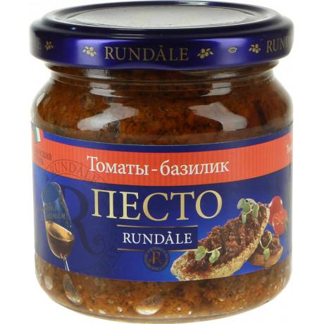 Песто с томатами и базиликом 180 гр/220 мл