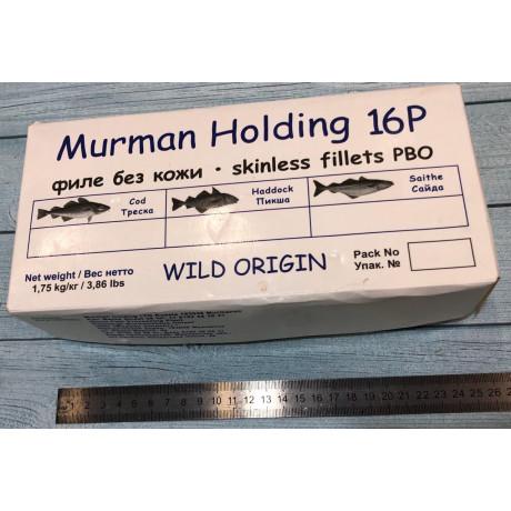 Филе трески без кожи 1,75 МурманХолдинг